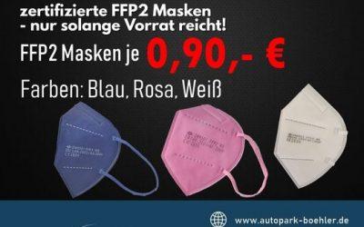 Safty First. FFP2 Masken für Schopfheim