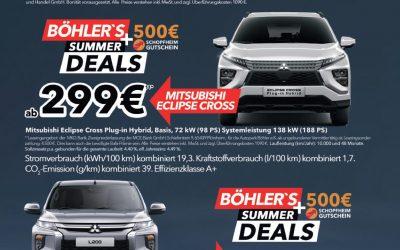 Mitsubishi Fahrzeuge besonders günstig!